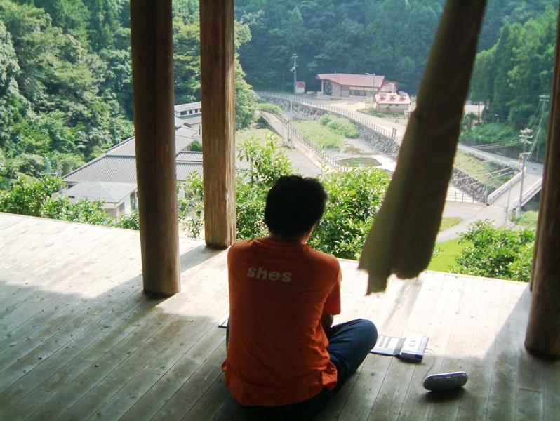 ●2006 8/10 和歌山 熊野 美山町 「高台古寺 奉納演奏」